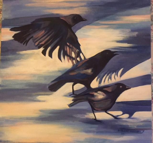 """Susan Scott Kenney's """"Three Crows"""""""
