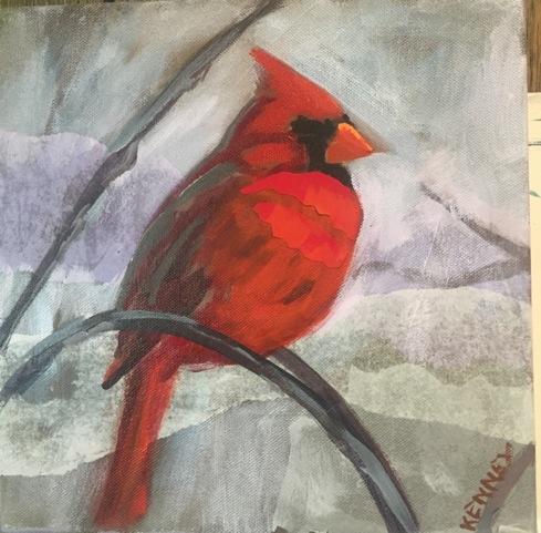 """Susan Scott Kenney's """"Cardinal"""""""