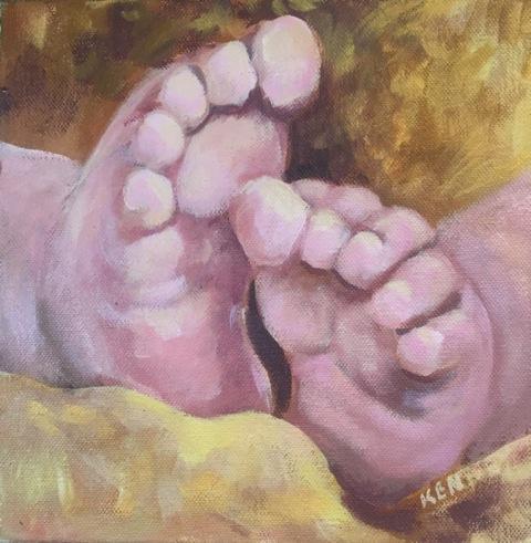 """Susan Scott Kenney's """"Little Feet"""""""