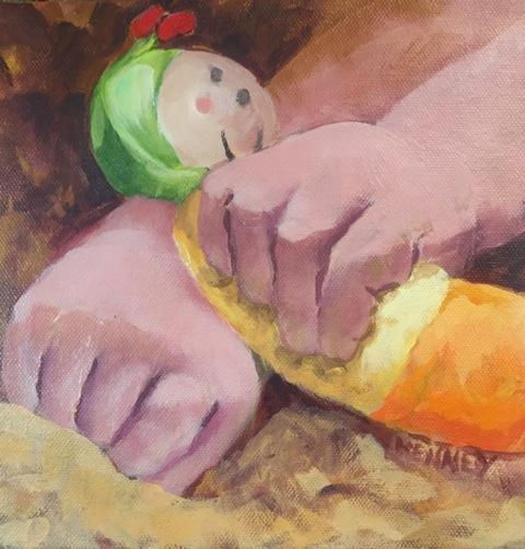 """Susan Scott Kenney's """"Little Hands"""""""