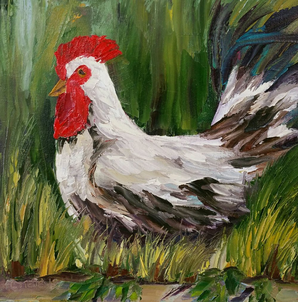 Rooster in Giverny