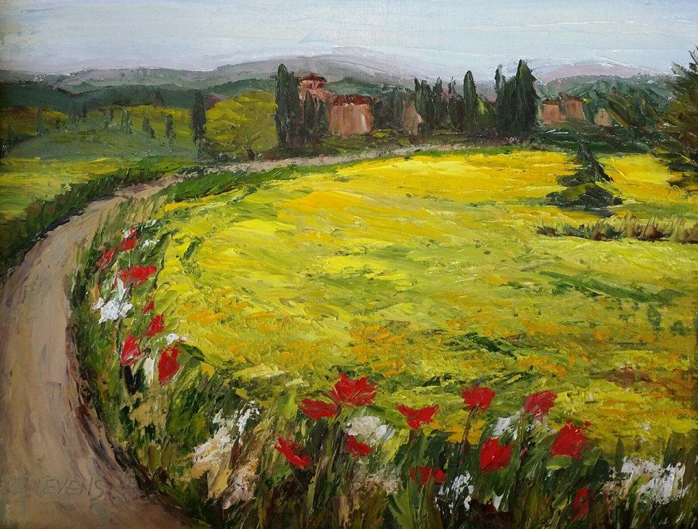 Tuscan Mustard Field
