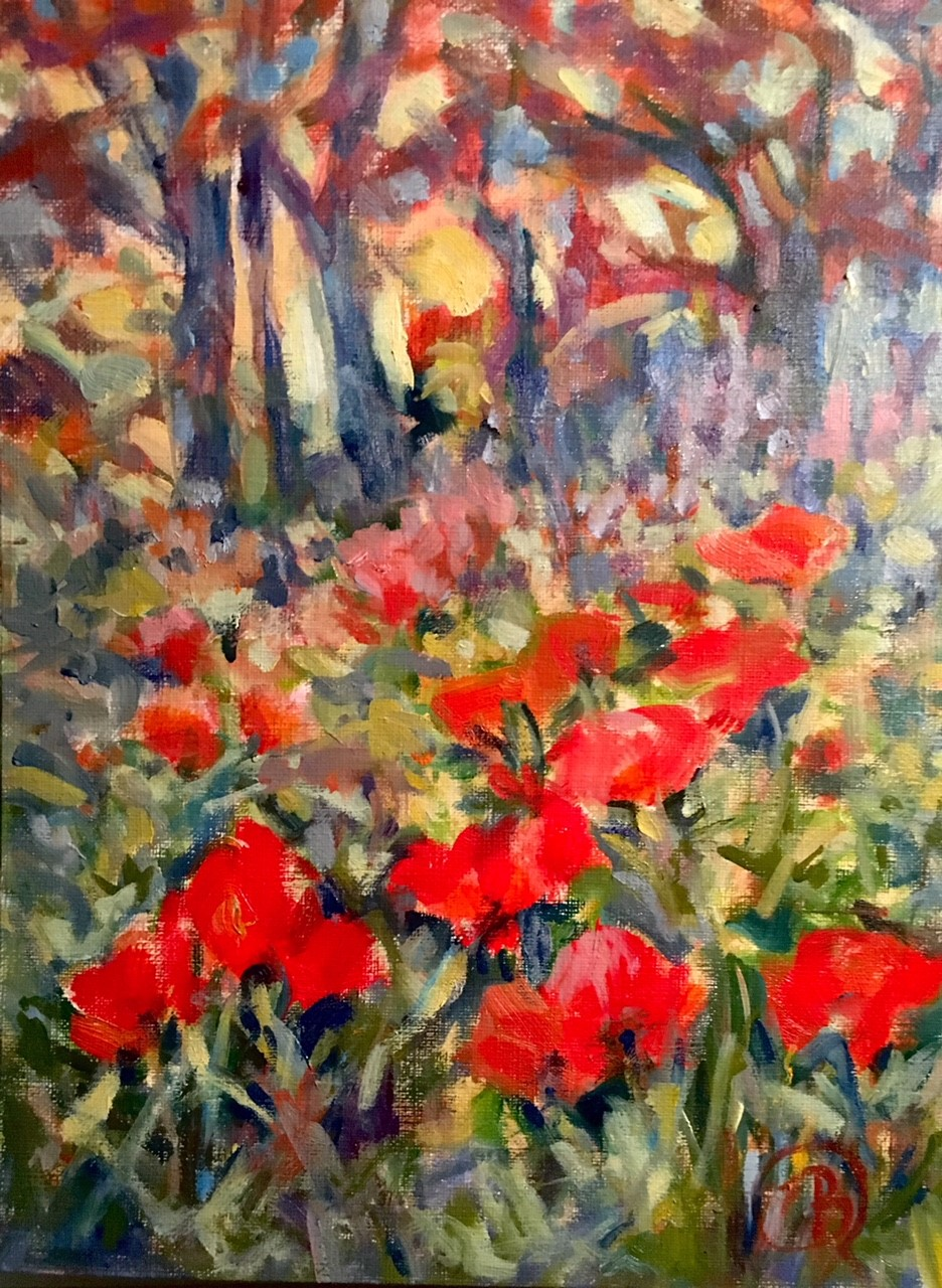 Lake Placid Poppies Study