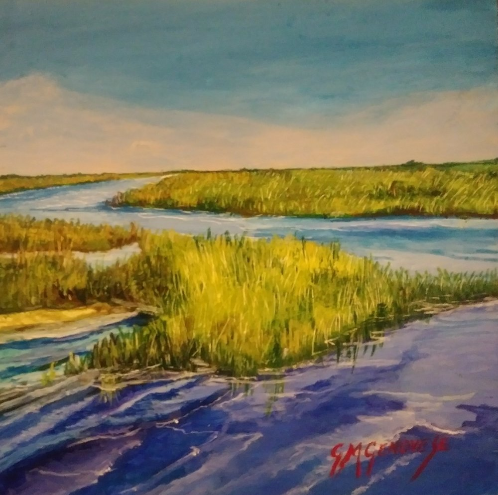 Salt Marsh Trilogy Midday