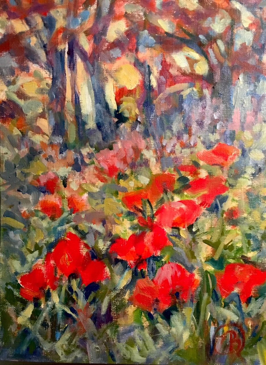 Barbara Rossitto_Lake Placid Poppies Study_8x10.jpg