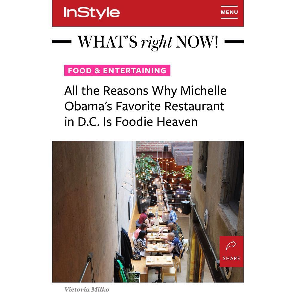 A screen capture of my photo on the InStyle homepage.
