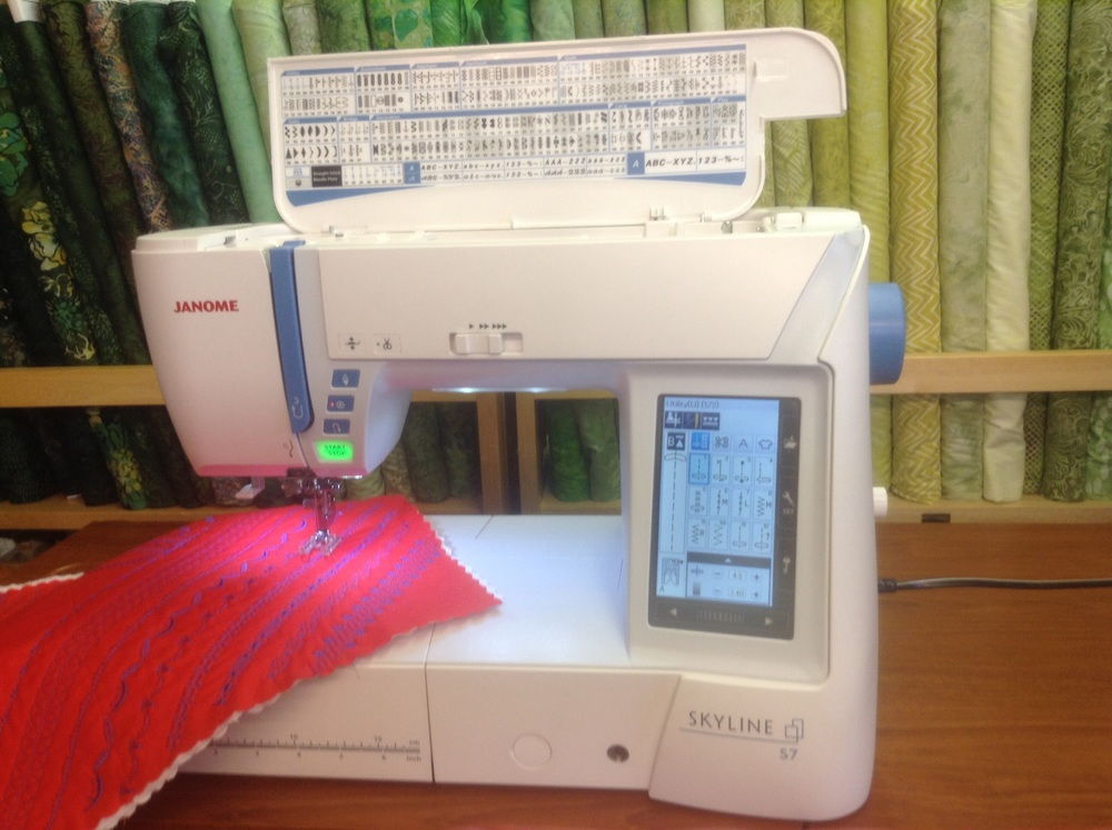 Come in and try out this user friendly new addition to JANOME