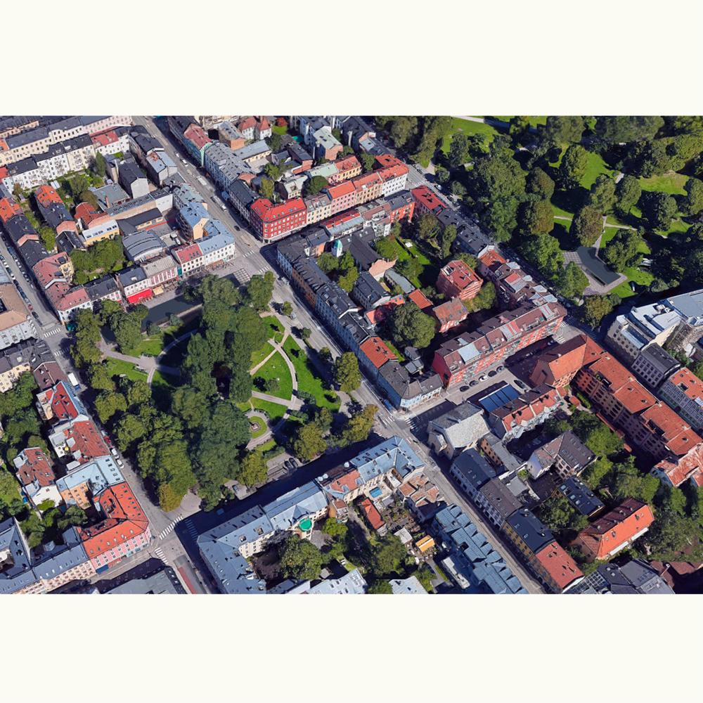 Aerial Grünerløkka