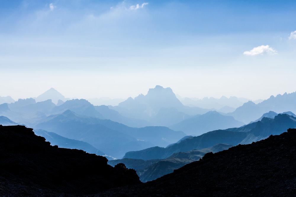 """""""Blue Dolomites"""", Italy"""