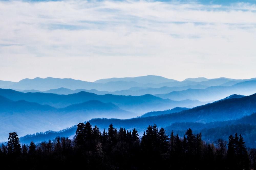 """""""Smokey Mountains"""", TN"""