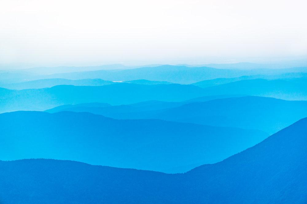 """""""Mt. Washington Morning Fog"""", NH"""