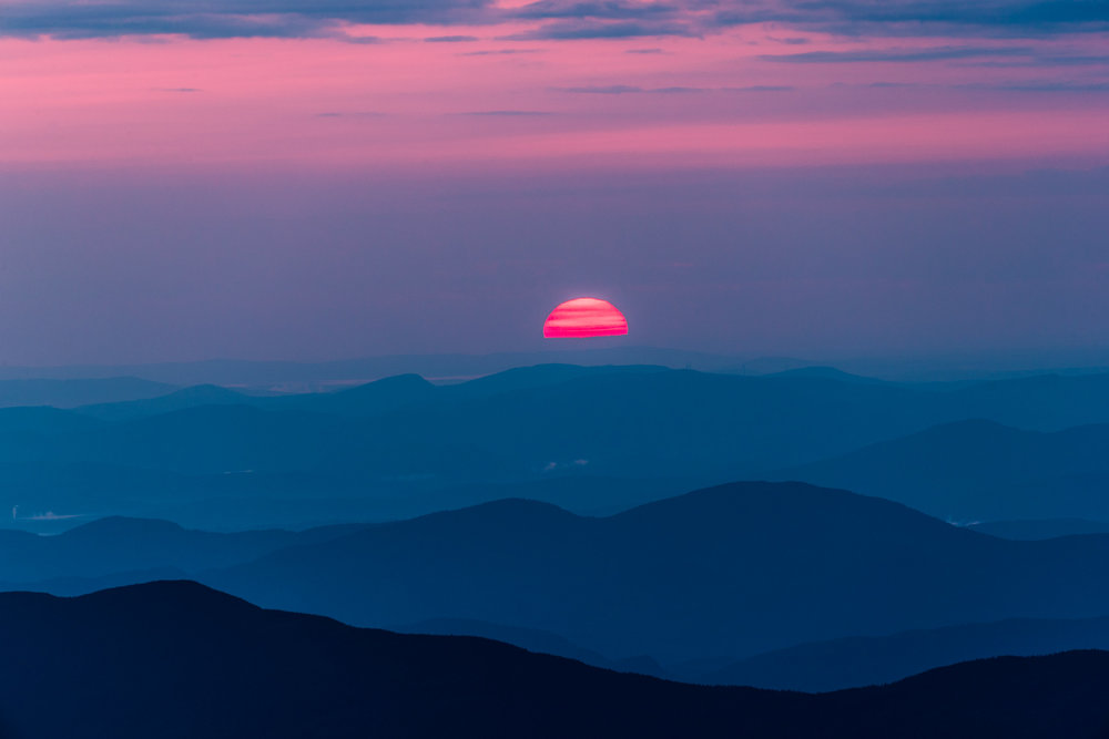 """Mt. Washington Sunrise II"", NH"