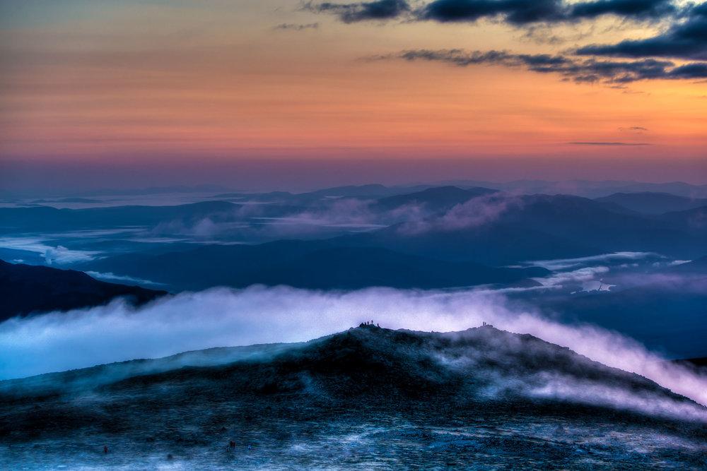 """Rolling Fog"", NH"