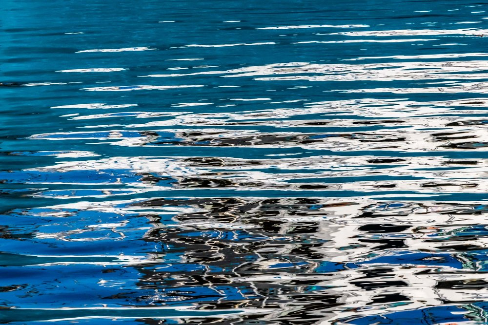 """Painted on Water IV"", Fogo Island"