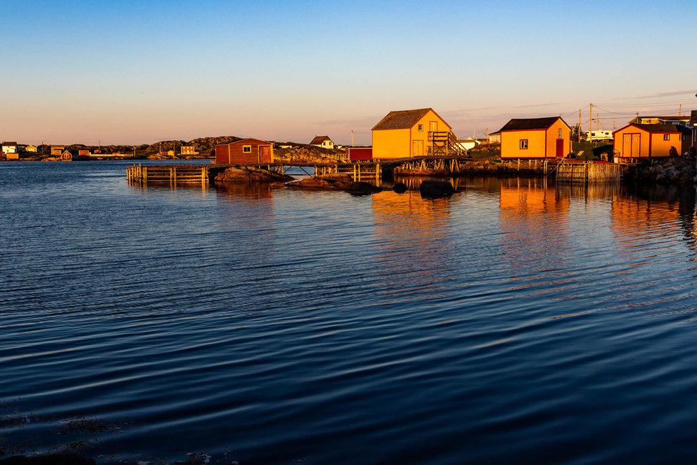 """Outport Twilight"", Fogo Island"