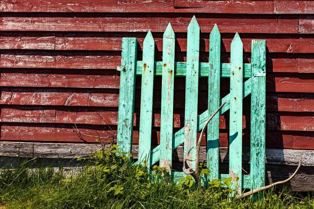 """The Fence"", Fogo Island"