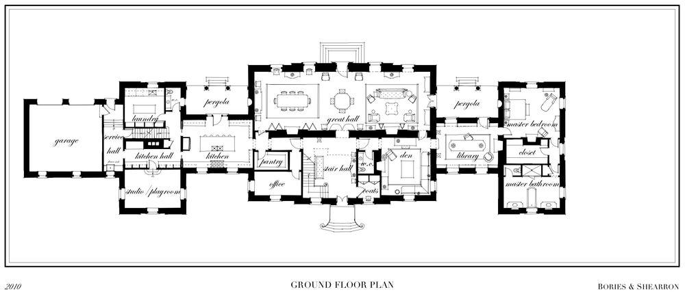 Palladian house design. Palladian house design   House interior