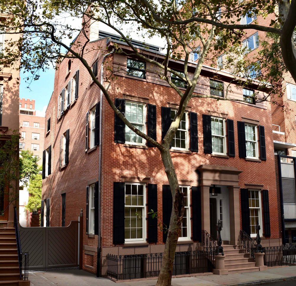 GREEK REVIVAL TOWNHOUSE RENOVATION