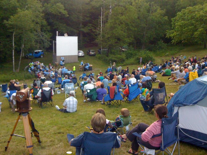 The very first Hubble Roadshow event at Stellafane, the legendary telescope makers' convention atop Breezy Hill in Springfield, Vermont.
