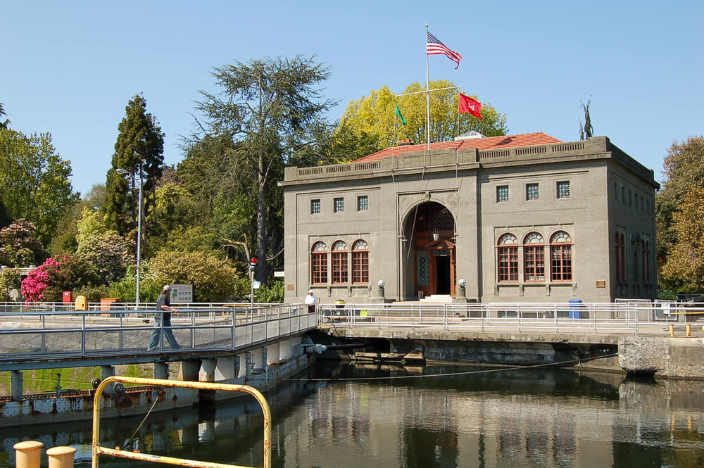 Ballard Locks are a must visit