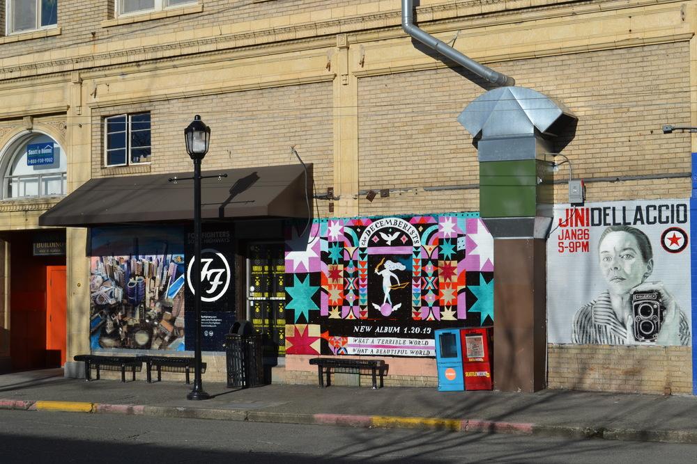 Alaska Junction shops and restuarants