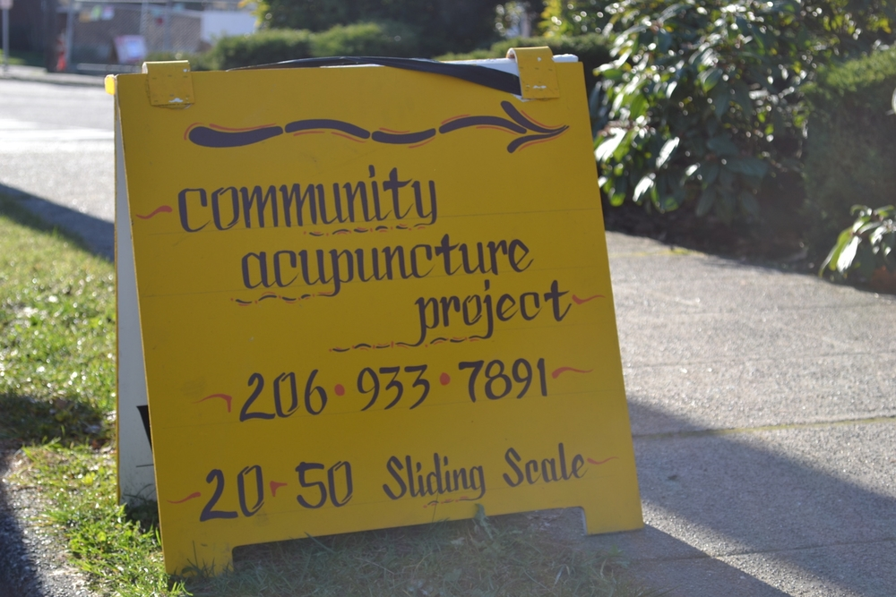West Seattle Acupuncture for All ; )