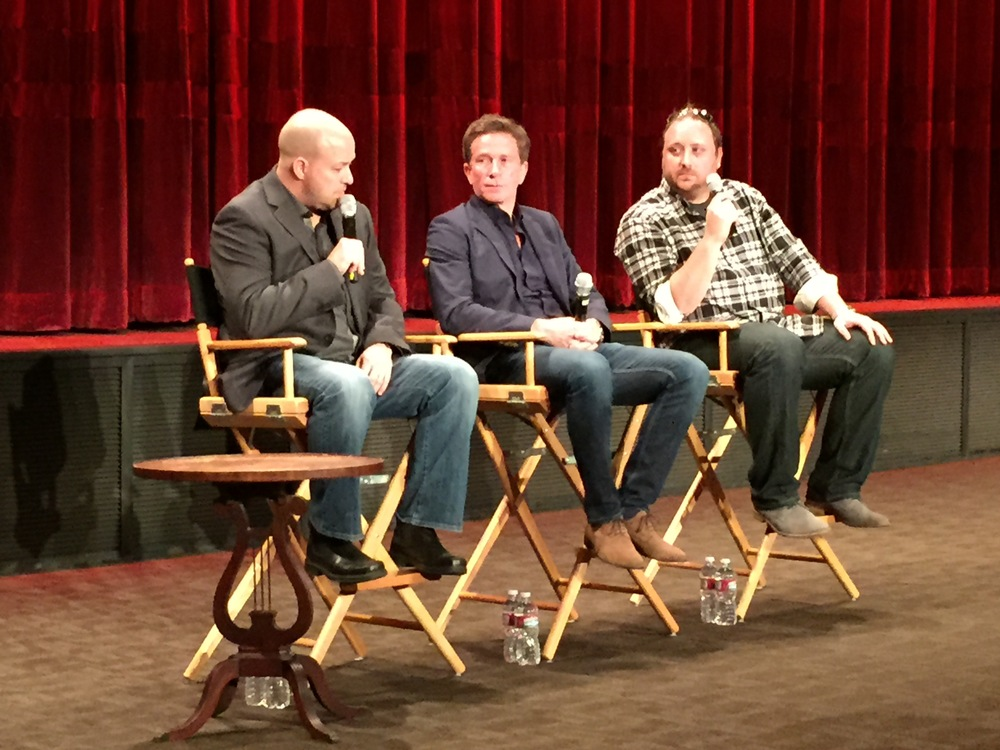 Q&A with (from left to right): Evan Jacobs (Stereographic 3D Supervisor, Marvel), Richard Baker (Senior Stereo Supervisor, Prime Focus World) and Brian Taber (Senior Stereographer, Stereo-D).