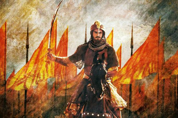 Actor Ranveer Singh as Peshwa Bajirao in 'Bajirao Mastani'. Eros International has drawn up a three-pronged approach for the film and based the strategy on the movie's director Sanjay Leela Bhansali's opulent vision.