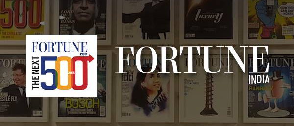 PRIME FOCUS RANKED 18TH ON PRESTIGIOUS FORTUNE INDIA 'NEXT 500' LIST.