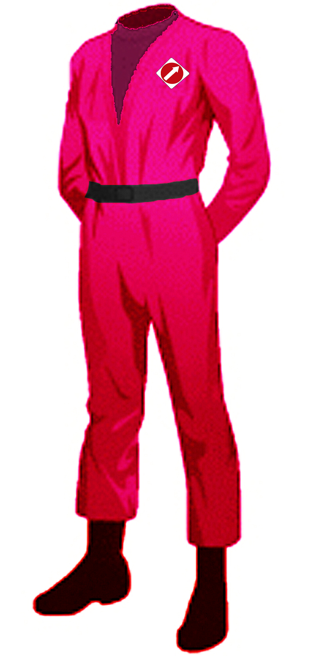 The One Way Redshirt Uniform, yours for one night or forever.
