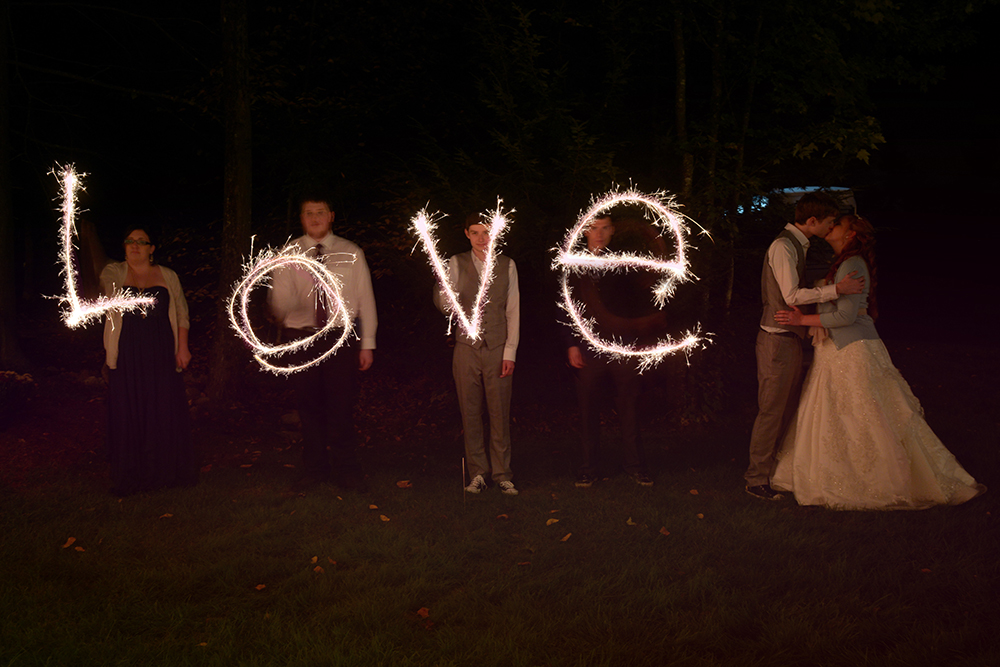 sparklers-love-wedding-new-hampshire-brittany