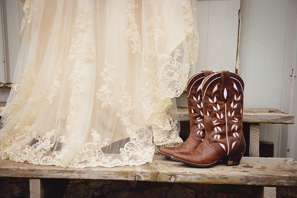 cowgirl-boots-and-wedding-dress-midwest-wedding