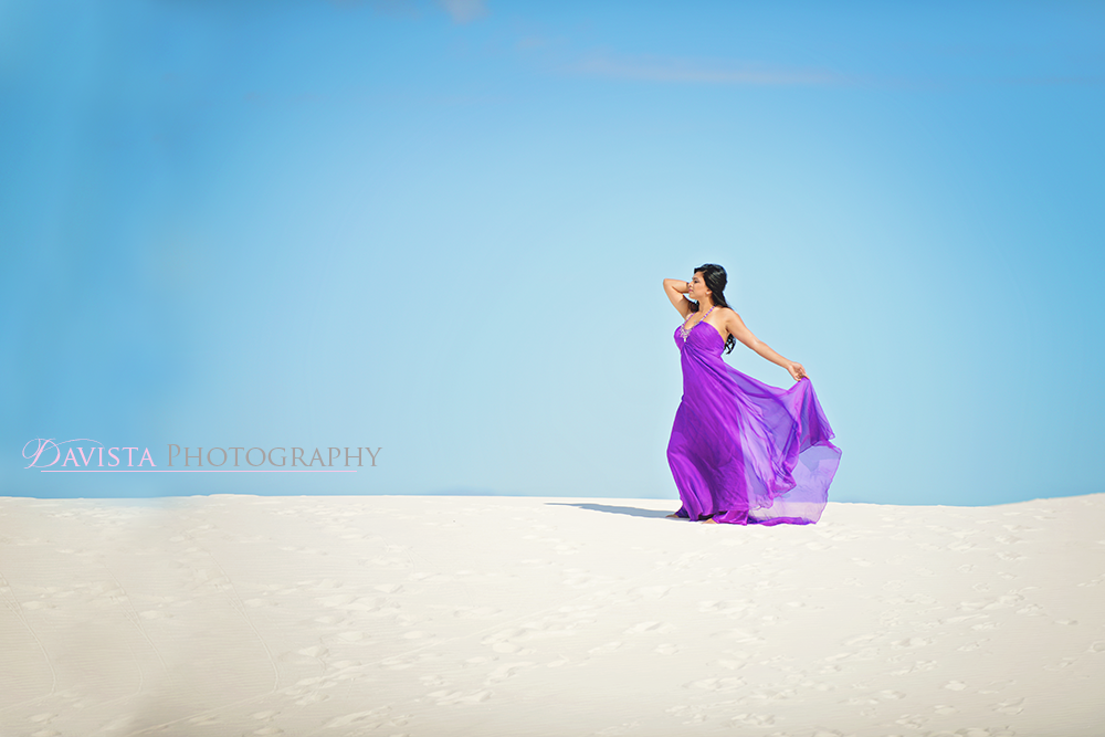 gorgeous-white-sands-beach-contrast-purple-dress-womens-portraits