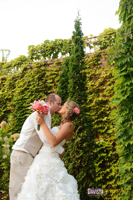 outdoor beautiful bridal dress dip