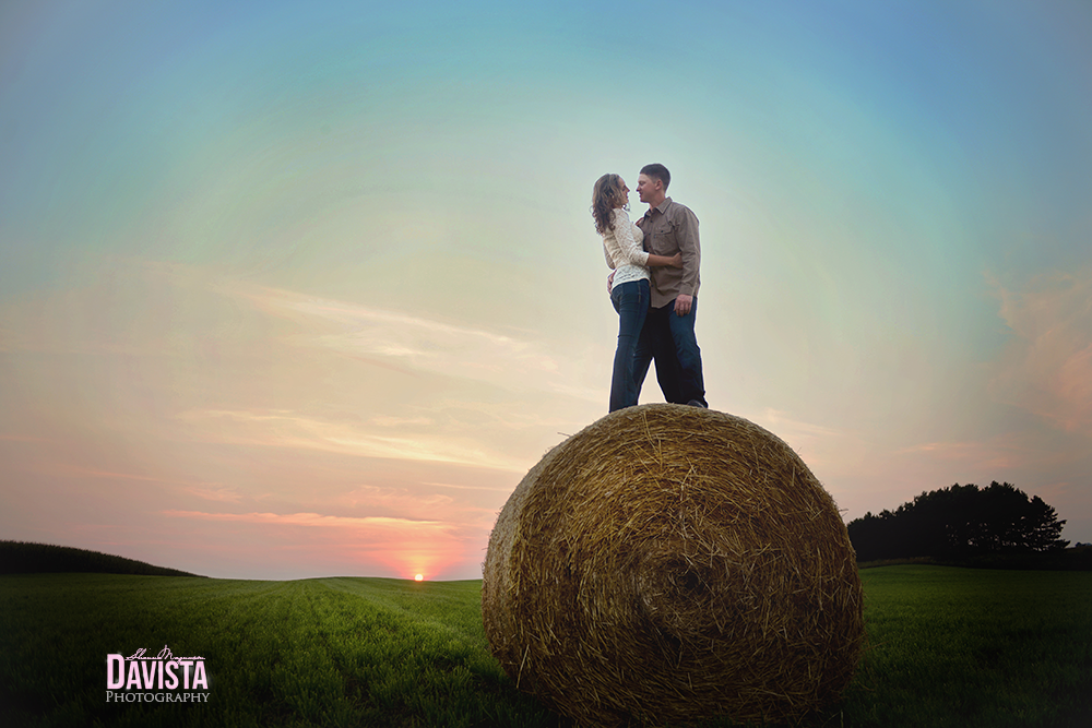 creative images for engaged couples