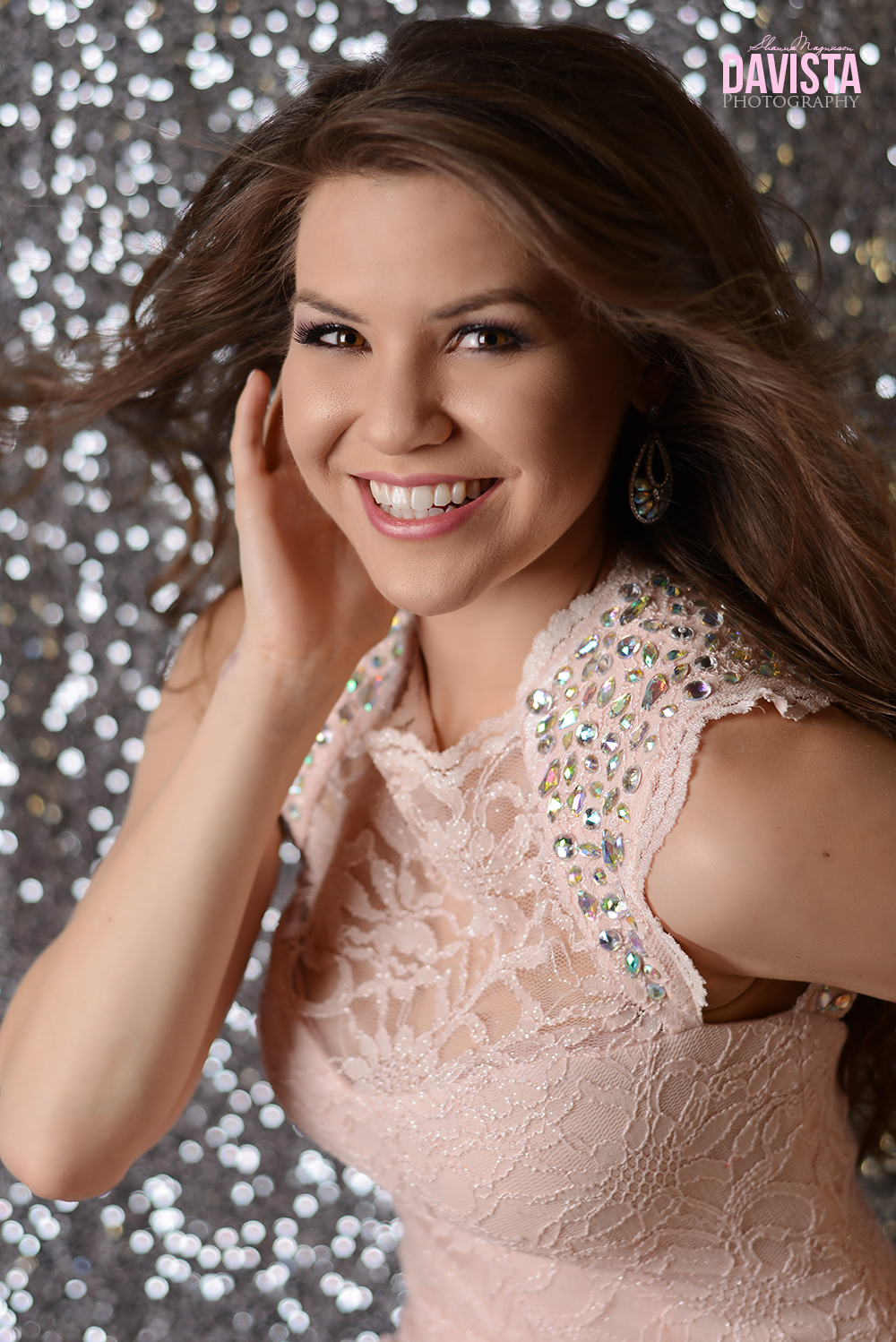 beautiful glamorous pageant portraits