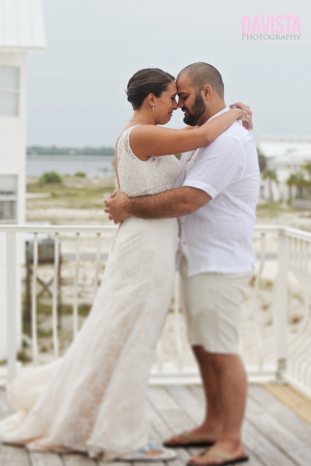 navarre beach florida outdoor wedding
