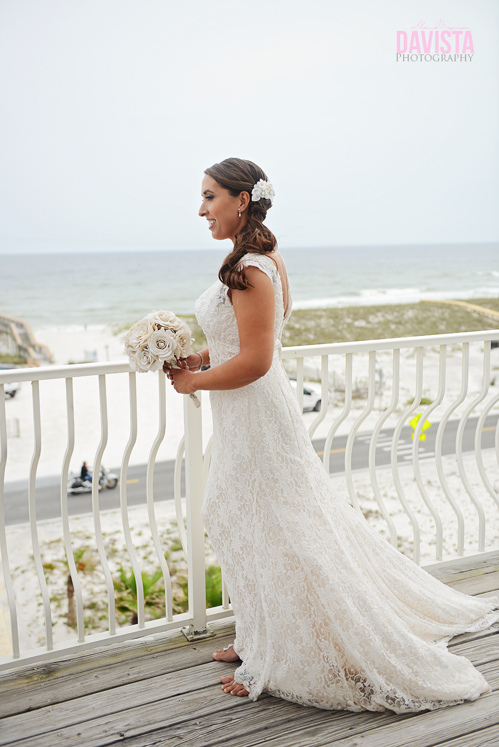 Bridals outdoor on deck