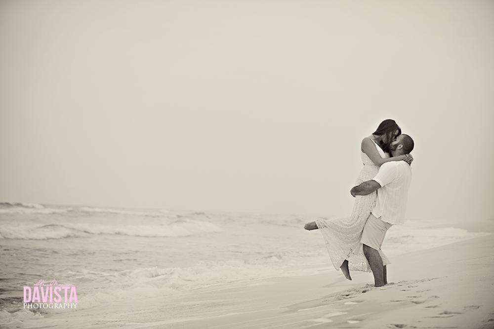 navarre beach florida ocean photos with couple