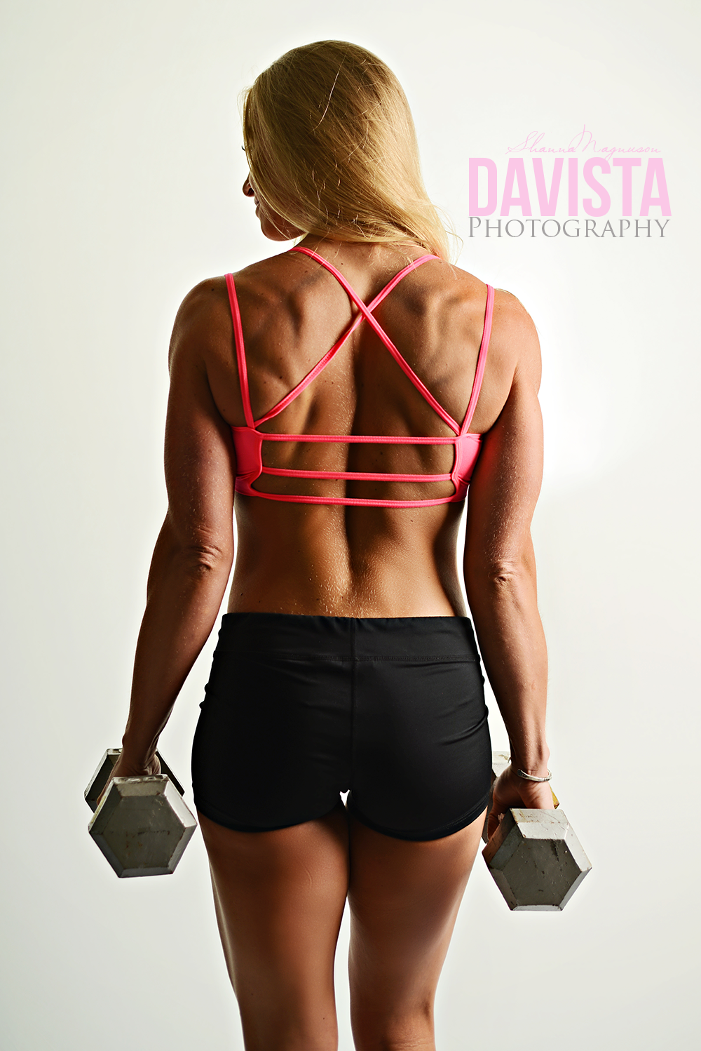 back muscles and poses magazine photographer