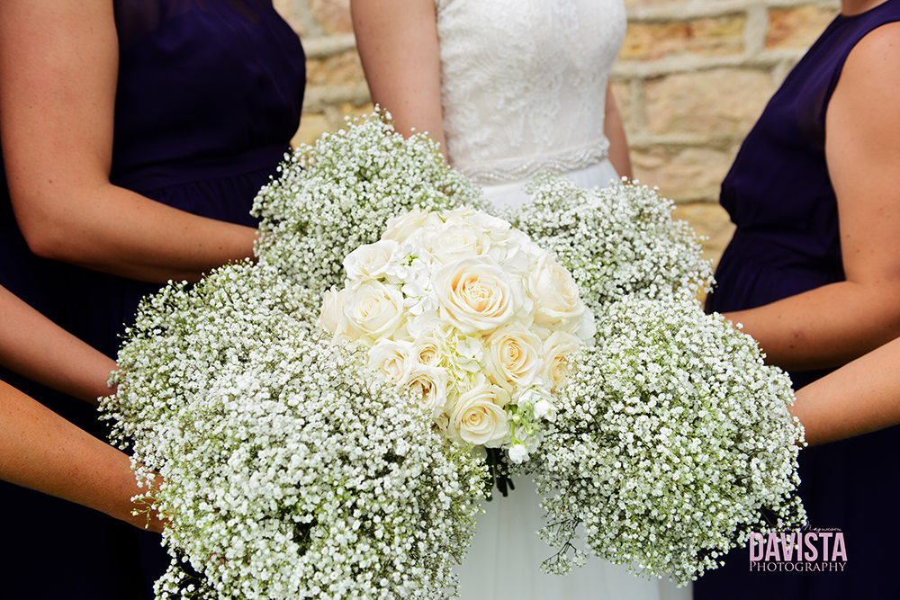 rustic farm wedding bouquets