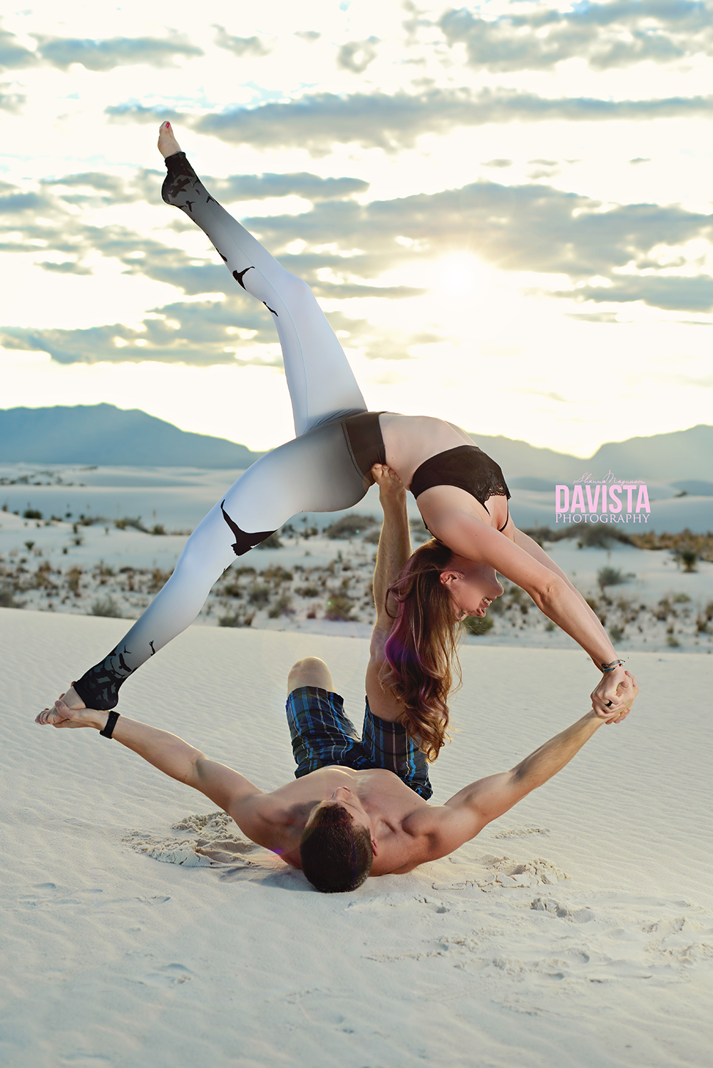 Partner Acro Yoga Couples Poses
