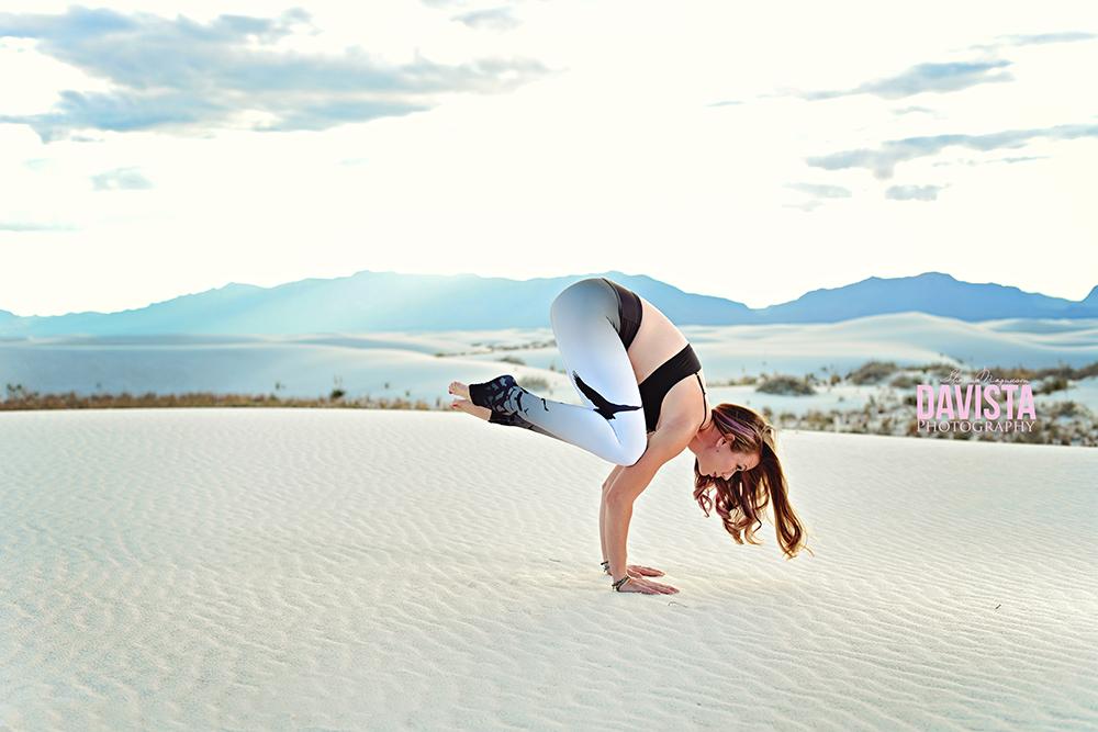 yoga the crow chakra pose