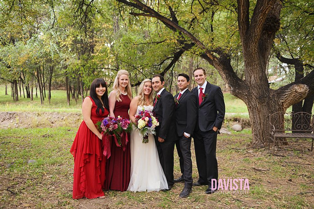 wedding party outdoor photography virginia
