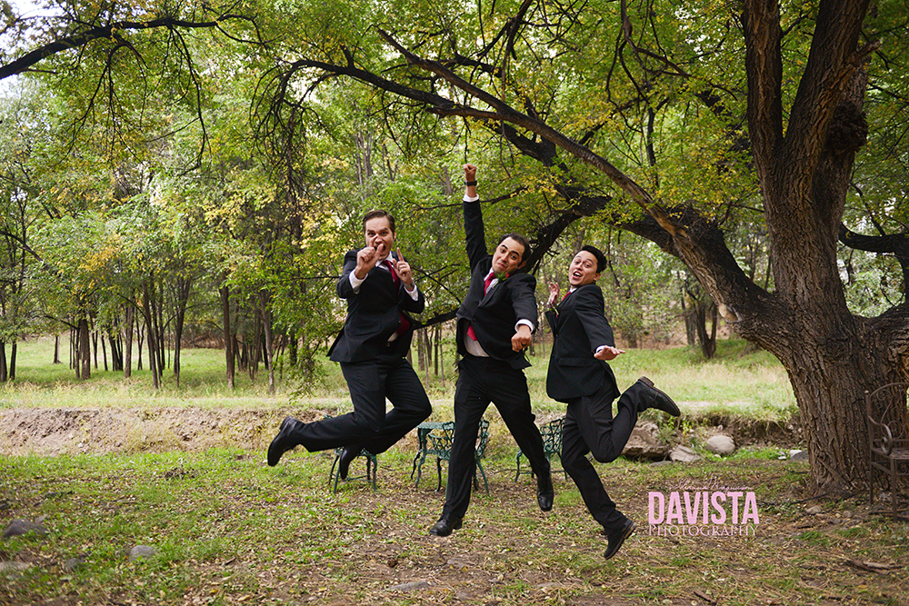 fun groomsmen photography