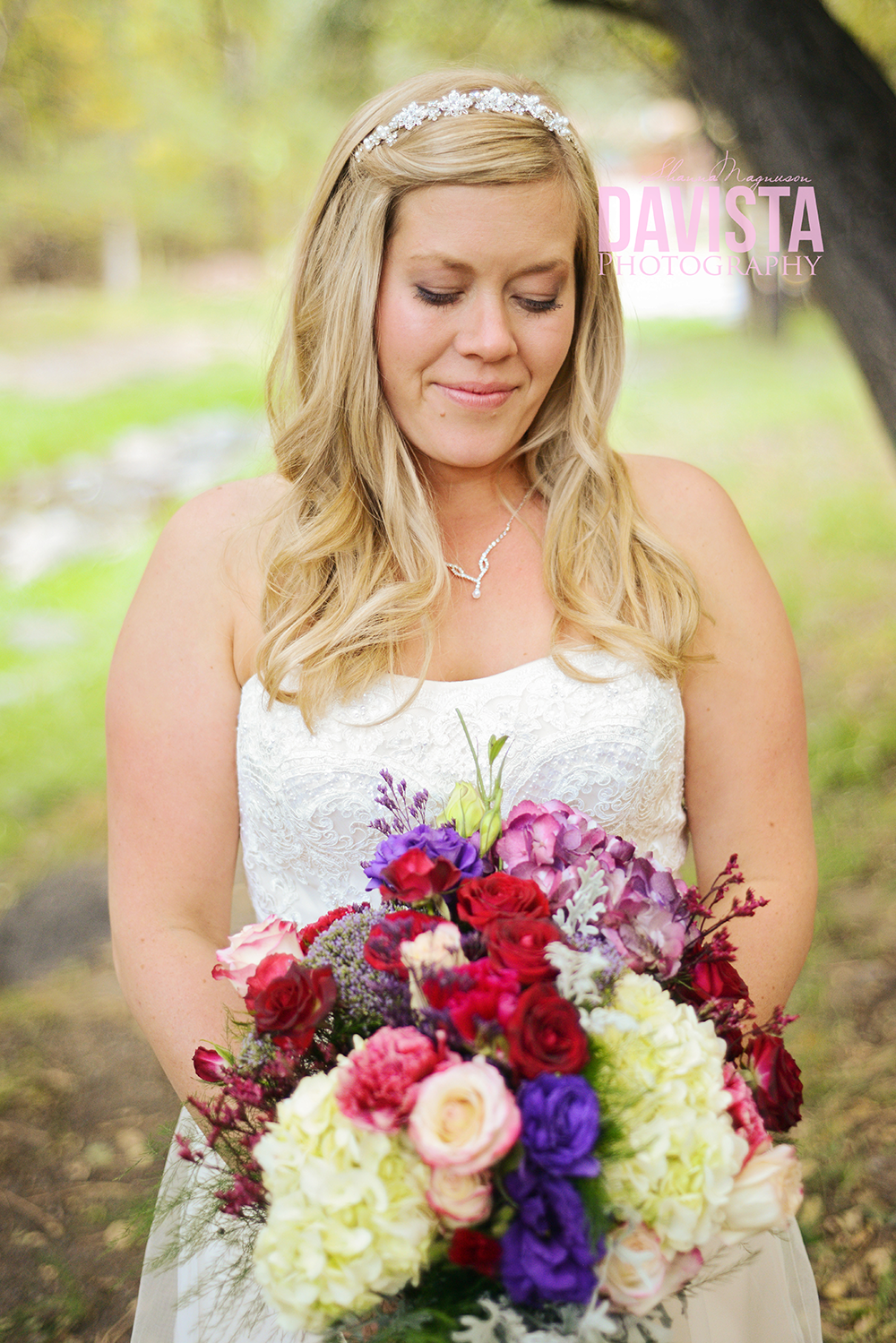 outdoor bridals at sanctuary on the river new mexico