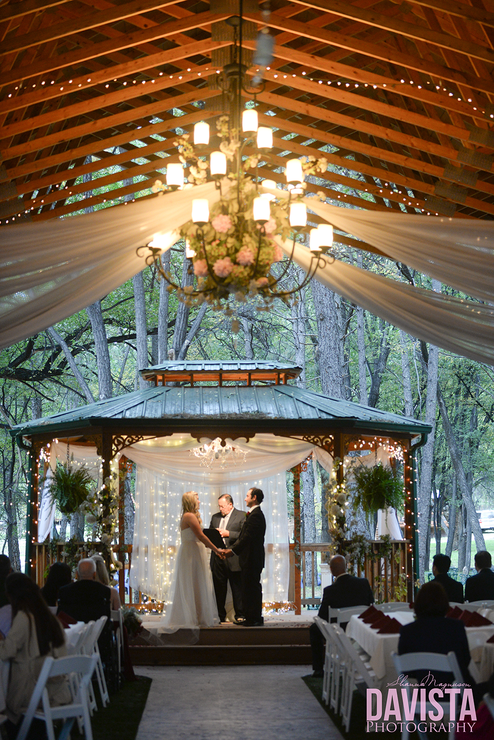 gorgeous outdoor wedding ceremony new mexico