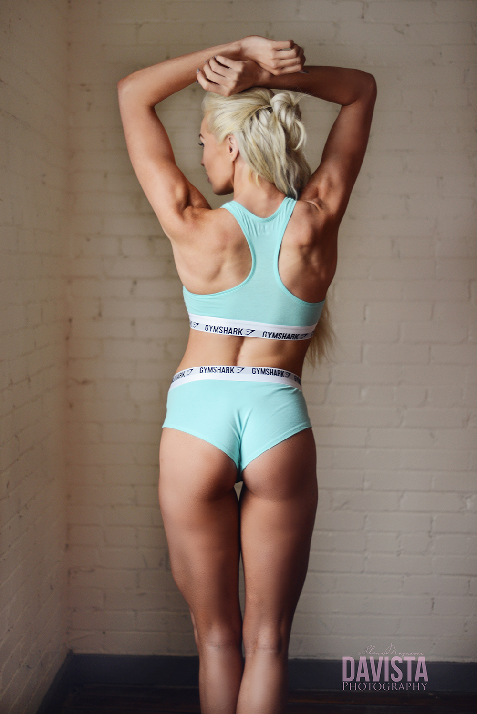 gym shark apparel portraits brittany