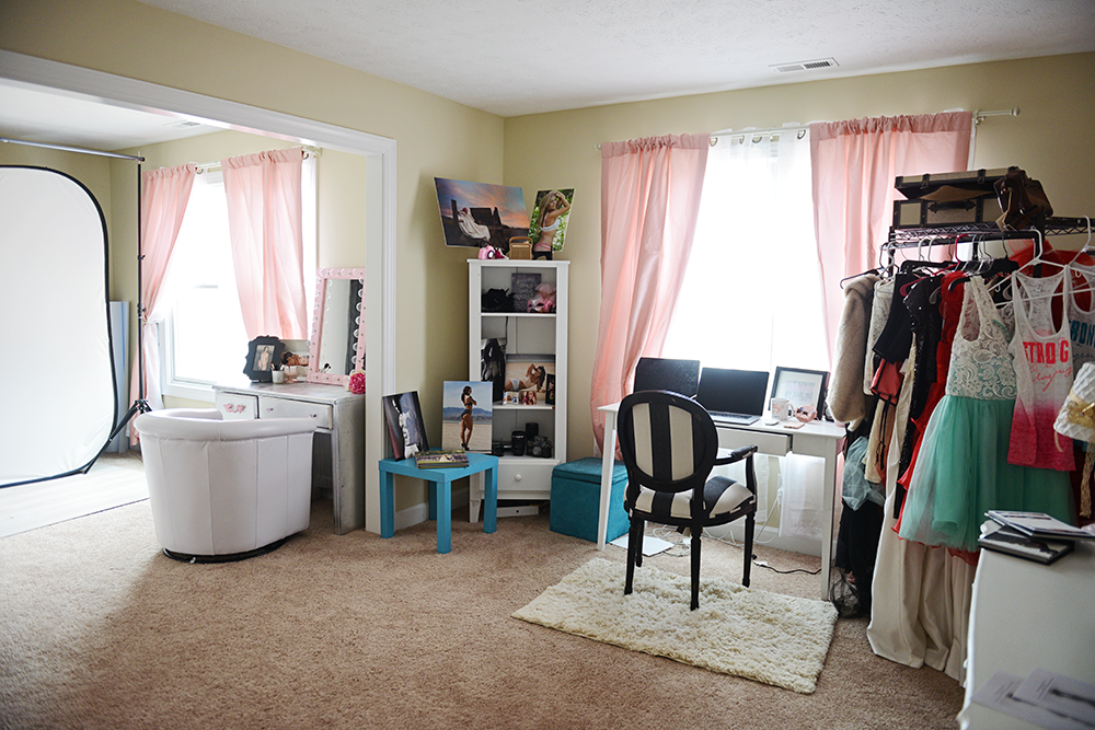 Hampton Virginia boudoir studio