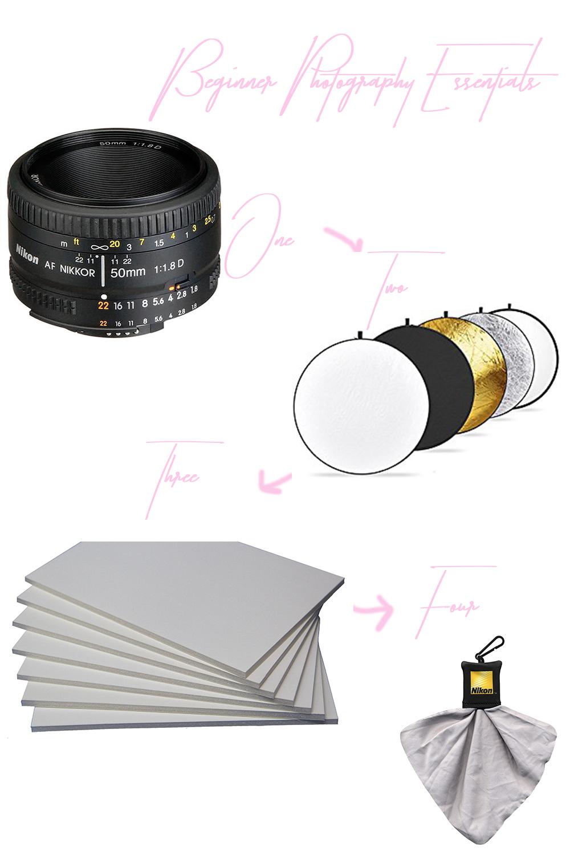 beginner photography essentials